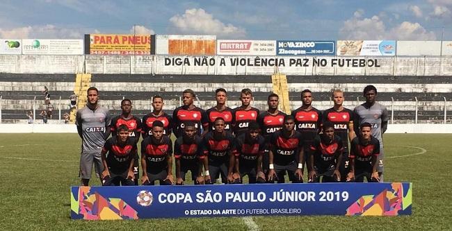 Sub-20 do Vitória avança e Bahia é eliminado na Copinha