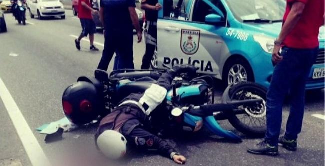 Bolsonaro manifesta pesar pelo primeiro assassinato de PM no Rio em 2019