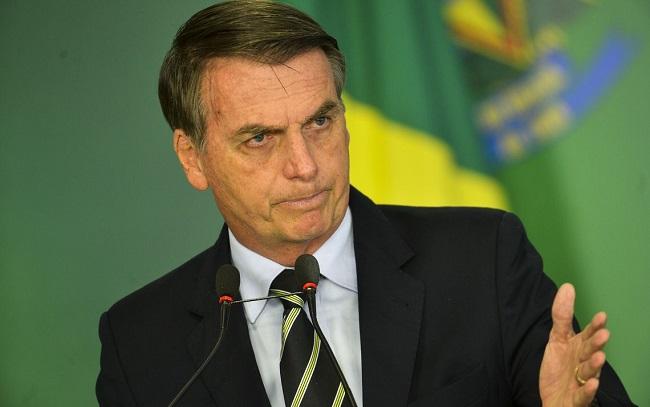 Bolsonaro critica Witzel por gravar telefonema para Mourão