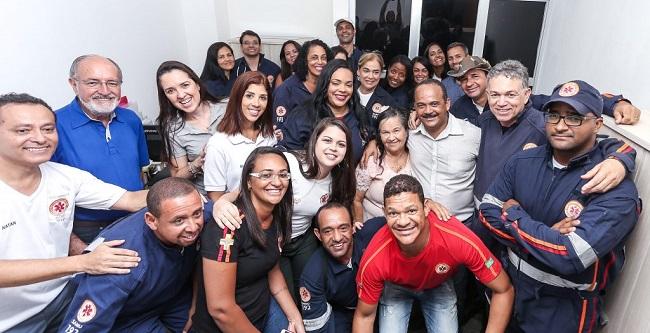 Elinaldo inaugura novas Central de Regulação e Base do SAMU em Camaçari