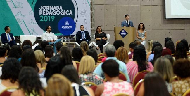 """Salvador realiza Jornada Pedagógica 2019 com foco na """"Gestão para resultados"""""""