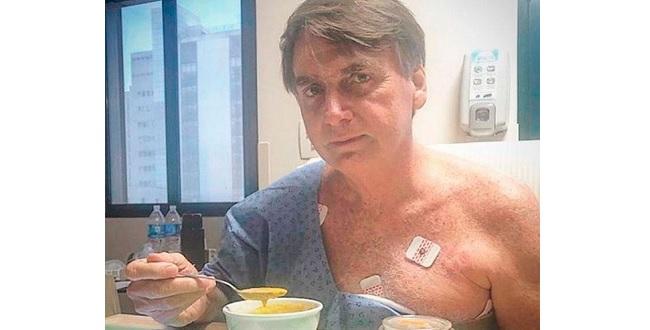 Bolsonaro tem boa evolução e segue sem febre, diz boletim médico