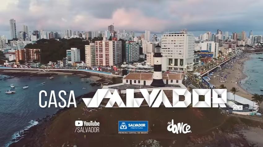 Canal Salvador no YouTube leva dança, cultura e gastronomia para o mundo