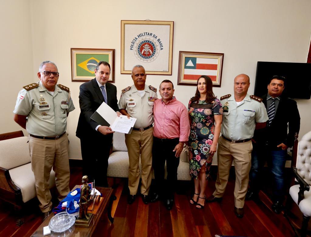 Colégio municipal em Castro Alves terá gestão compartilhada com a Polícia Militar