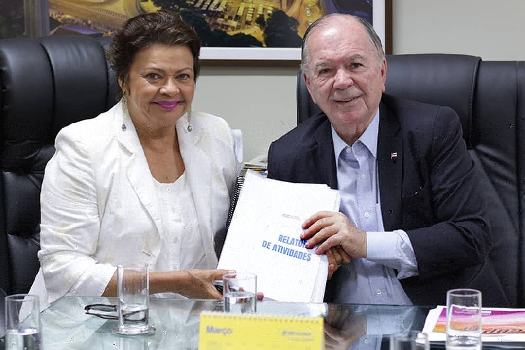 João Leão e Luiza Maia realizam transição na SDE