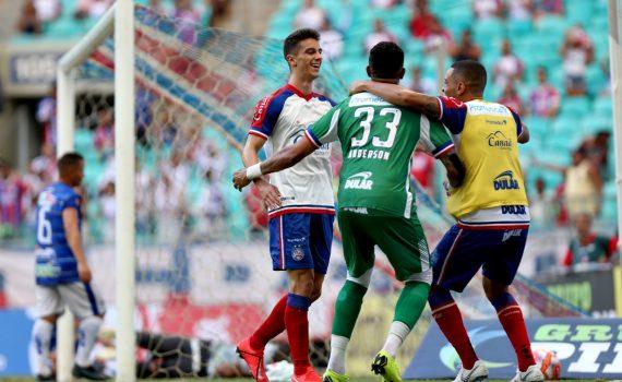 Bahia vence o Jacobina por 3 a 0 na Fonte Nova; veja os gols