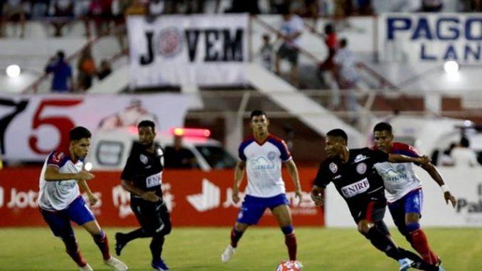 Atlético de Alagoinhas e Bahia empatam por 1 a 1  veja os gols - c557a641950bf