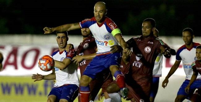Jacuipense bate os reservas do Bahia por 1 a 0; veja o gol