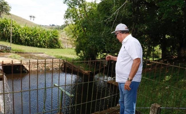 Arimateia visita Barragem de Afligidos em São Gonçalo dos Campos