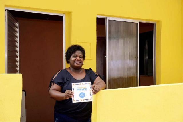 Morar Melhor entrega 368 residências reformadas em dois bairros de Salvador
