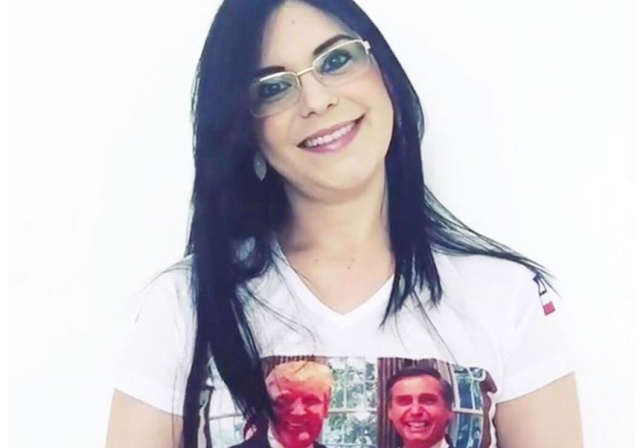 """Dayane exalta encontro entre Bolsonaro e Trump: """"Início de bons tempos"""""""