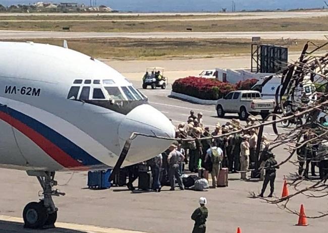 Aviões militares da Rússia aterrissam na Venezuela