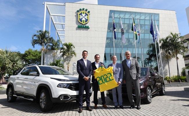 Fiat é a nova patrocinadora da Seleção Brasileira de Futebol
