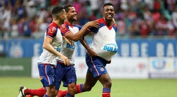 Bahia aplica 3 a 0 no Atlético de Alagoinhas; veja os gols