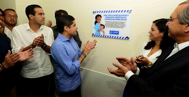 Hospital Municipal de Salvador ganha salas escolares e novos serviços