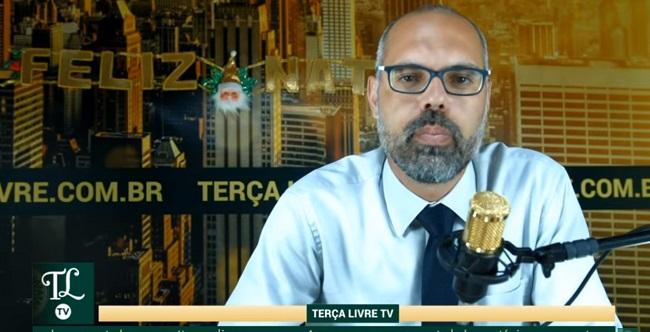 Jornalista Allan dos Santos e equipe do Terça Livre sofrem ameaças de morte