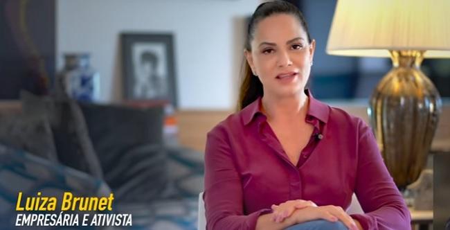 Damares comemora repercussão de campanha estrelada por Luiza Brunet; assista