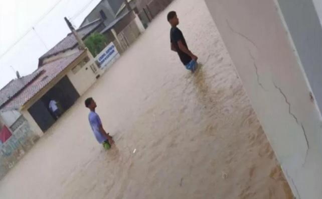Prefeitura de São Sebastião do Passé declara situação de emergência após temporal