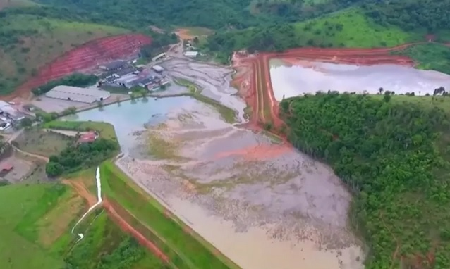 Mineradora continua a utilizar barragem interditada em Maiquinique