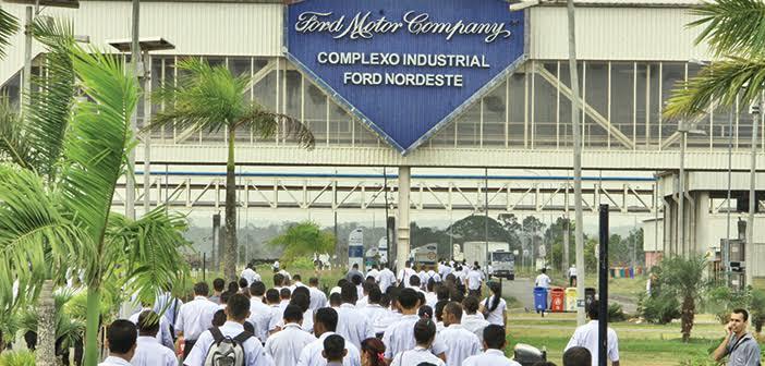 Ford inicia Plano de Demissão Voluntária na fábrica de Camaçari