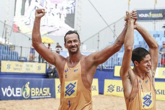 Aos 44 anos, atleta baiano Ricardo conquista 7º título Brasileiro de Vôlei de Praia