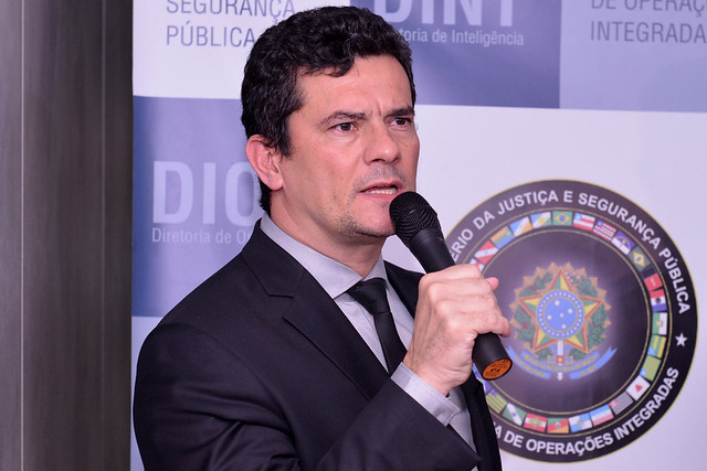 Moro inaugura sede do Centro Integrado de Inteligência Nacional
