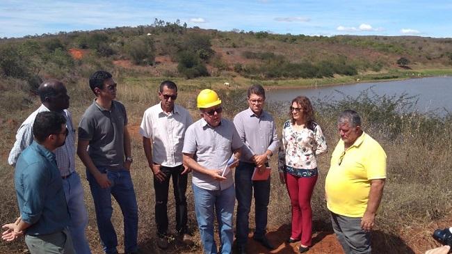 Barragens de Ibiassucê são vistoriadas pela Comissão do Meio Ambiente da ALBA