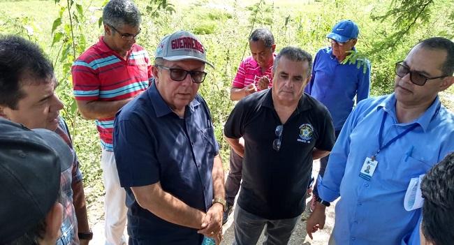 Comissão do Meio Ambiente da ALBA visita barragem de Cipó