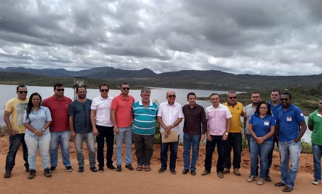 Comissão de Meio Ambiente da ALBA vistoria barragem em Rio de Contas