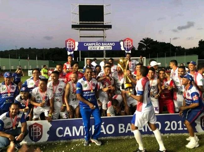 Doce Mel, de Ipiaú, é o campeão da Série B do Baiano 2019