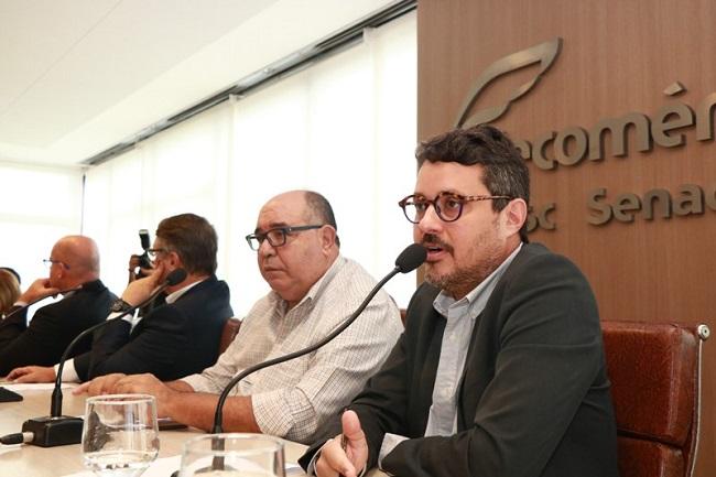 Fausto Franco apresenta plano de ações na Câmara Empresarial do Turismo da Fecomércio-BA
