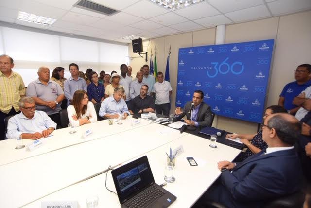 Prefeitura de Salvador e Caixa firmam acordo para retomar construção de moradias em Tubarão