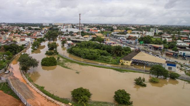 Moema decreta situação de emergência em Lauro de Freitas