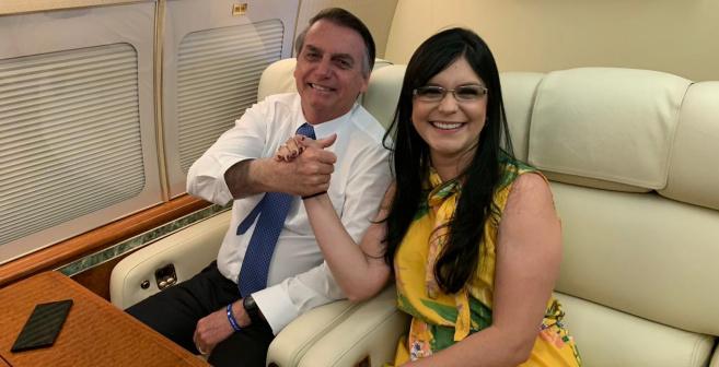 """""""O Nordeste e a Bahia conquistarão autonomia com Bolsonaro"""", diz Dayane"""