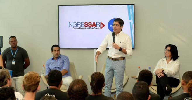 Prefeitura de Salvador abre 800 vagas em curso gratuito para o Enem