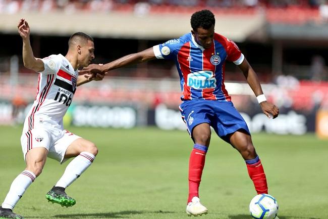 Brasileirão: Bahia e São Paulo empatam sem gols no Morumbi