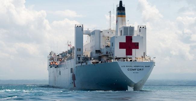 Estados Unidos vão enviar navio-hospital para ajudar países vizinhos da Venezuela