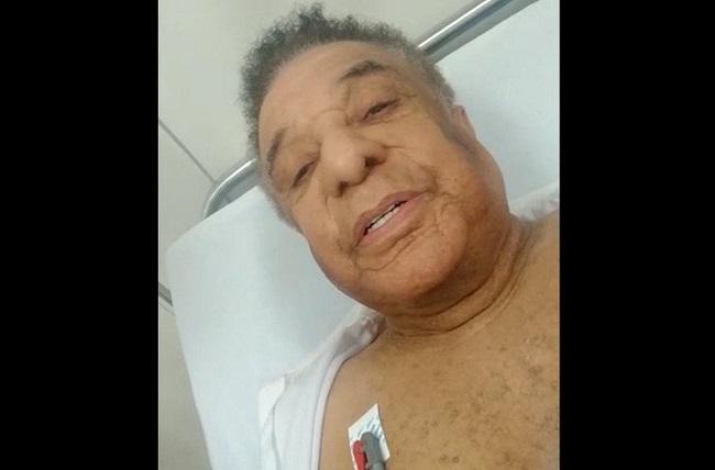 Resultado de imagem para Agnaldo Timóteo é internado em Barreiras após mal-estar