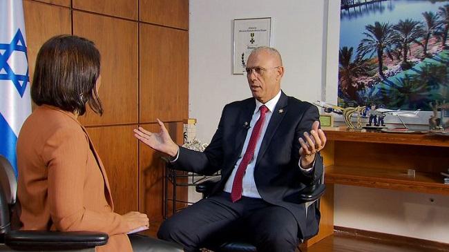 Embaixador de Israel aponta a segurança pública como principal desafio do Brasil