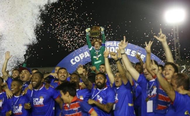 Fortaleza bate o Botafogo-PB e conquista a Copa do Nordeste 2019
