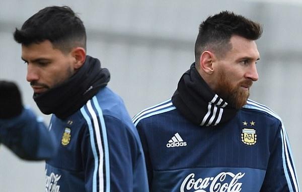 Argentina confirma Messi e Agüero na Copa América