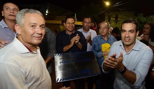 Bruno Reis entrega espaço recreativo à população de São Marcos