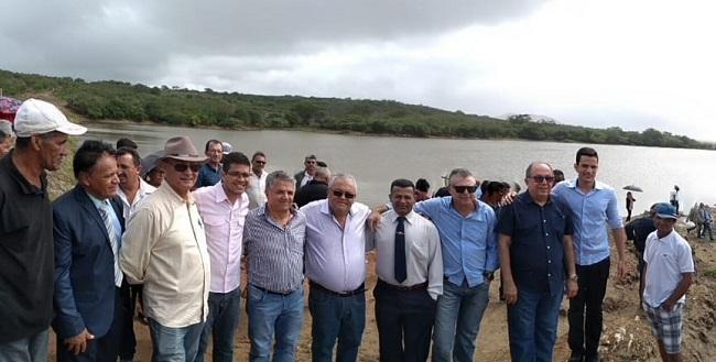 Comissão do Meio Ambiente da ALBA vistoria reservatório em Monte Santo
