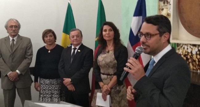 Fausto Franco prestigia comemoração antecipada do Dia de Portugal na Bahia