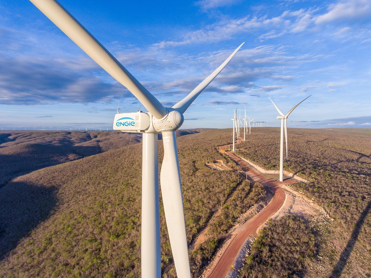 Engie vai investir R$ 1,6 bi em novo complexo eólico na Bahia
