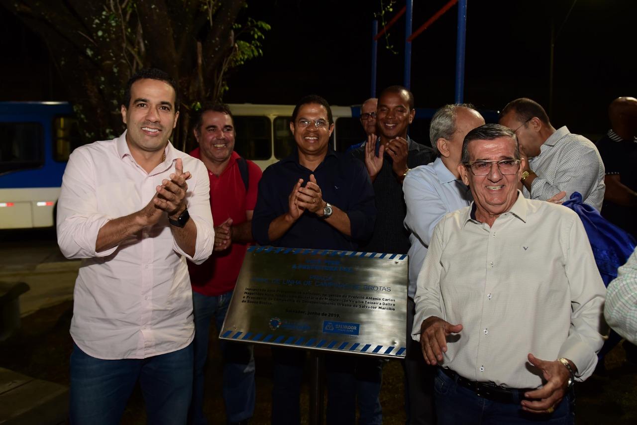 Bruno Reis entrega espaço de convivência no final de linha de Campinas de Brotas