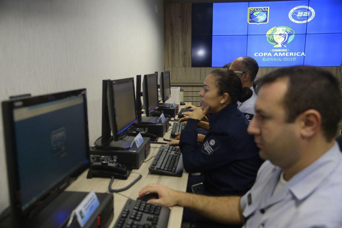 Aeronáutica inaugura Sala de Comando e Controle para a Copa América