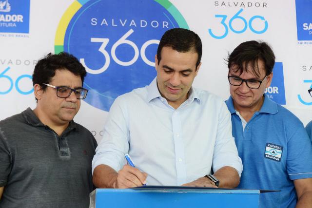 Bruno Reis autoriza obras de proteção em áreas de risco em Salvador