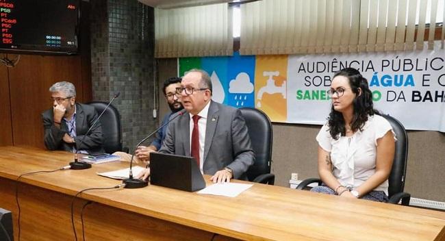 Arimateia realiza audiência pública sobre situação do saneamento básico na Bahia