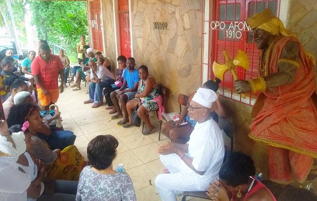 Prefeitura de Salvador leva serviços ao terreiro Ilê Axé Opô Afonjá